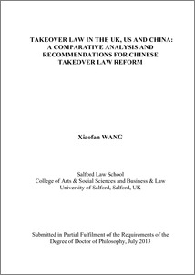 comparative analysis thesis