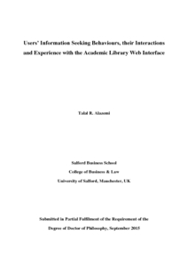 Thesis on library building