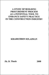 A study of building procurement process as a potential tool
