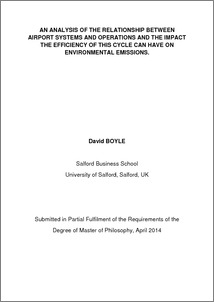 Items where Year is 2014 - University of Salford Institutional